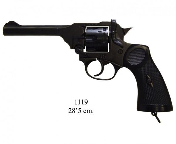 Webley MK 4 Revolver schwarz