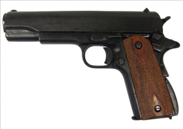 US-Colt Government m.Holzgriff