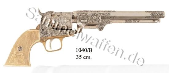 Navy Colt USA 1851 weiß