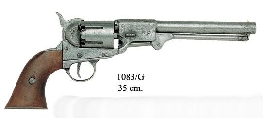Colt Revolver Mod. Army grau