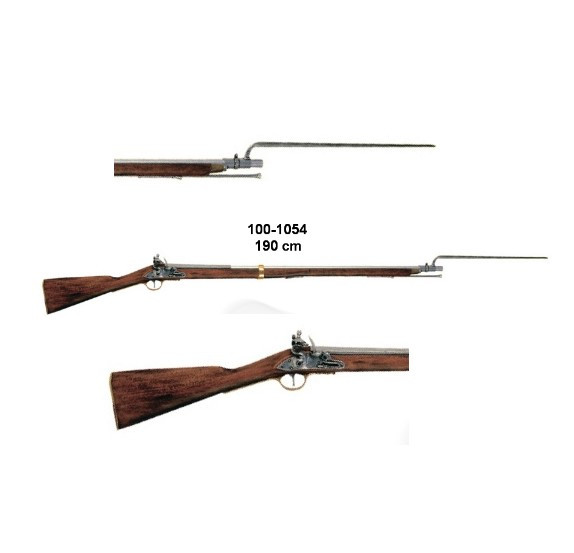 Brown Bess Gewehr,England, Steinschloß,m.Bajonett