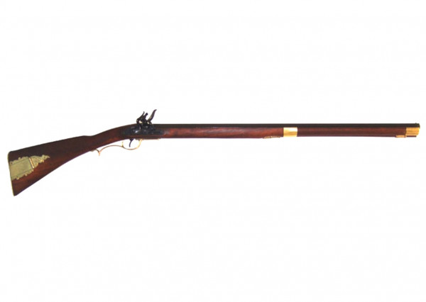 Kentucky-Rifle,Steinschloß, 19 Jh.