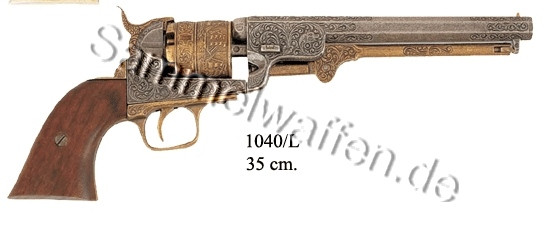 Navy Colt USA 1851, messingfarben