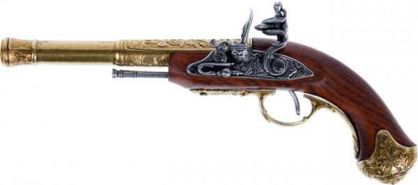 Steinschloßpistole f.Linkshänder