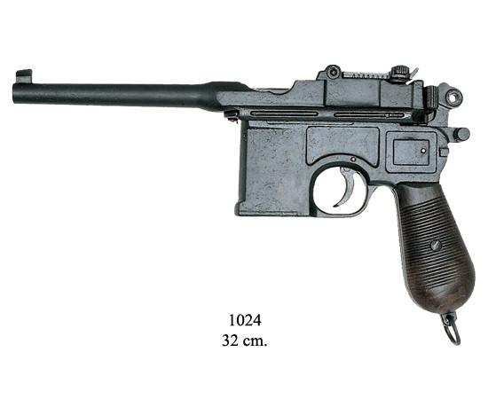 Mauser (Pistole) schwarz, BKA 221