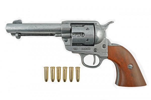 Colt 45 Peacemaker grau m. 6 Patronen