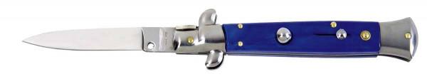 Springmesser Stiletto blau