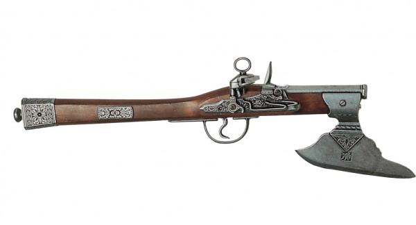 Deutsche Axtpistole,Steinschloß