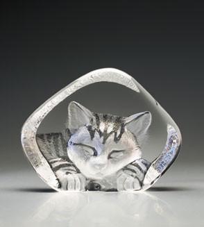 Mats Jonasson Kristall Katze