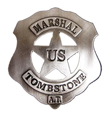US-Marshall Badge Tombstone