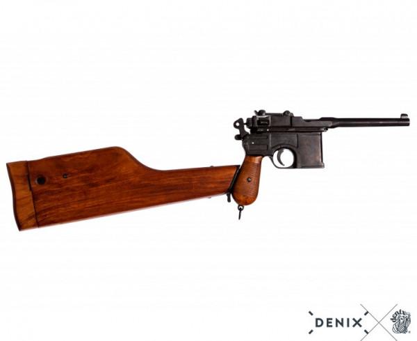 Mauserpistole C96 m.Gewehr