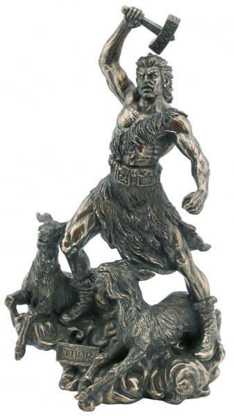 Thor, Donnergott,Bronziert