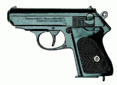 Walther P.P.K. deutsche Polizeipistole