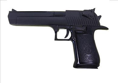 Pistole Desert Eagle,schwarz,