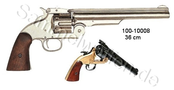 Smith & Wesson,Mod.1869 vernickelt