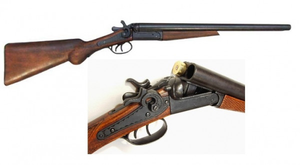 Schrotflinte Wyatt Earps 1881 m. Holzschaft